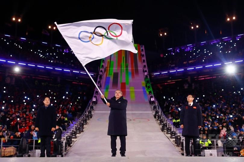 IOCバッハ会長「五輪は汚されていない」、OARの薬物違反受け