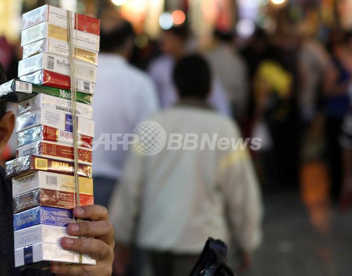 JT、シリア政権の関連企業にたばこ輸出か EU制裁違反の疑い