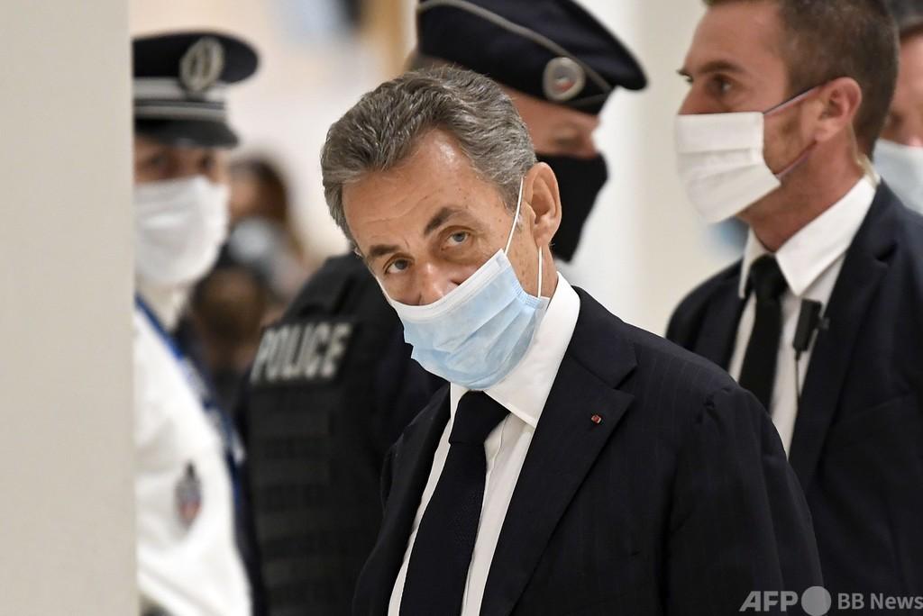 サルコジ仏元大統領、汚職で公判開始