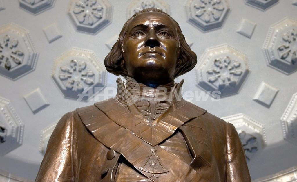 米初代大統領ワシントンの記念図書館が開館、退任から2世紀余り