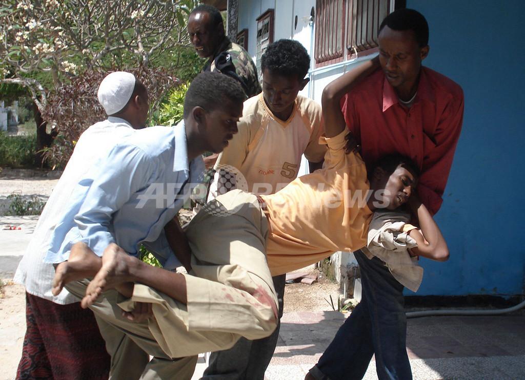 ソマリア首都、戦闘の巻き添えで市民17人死亡