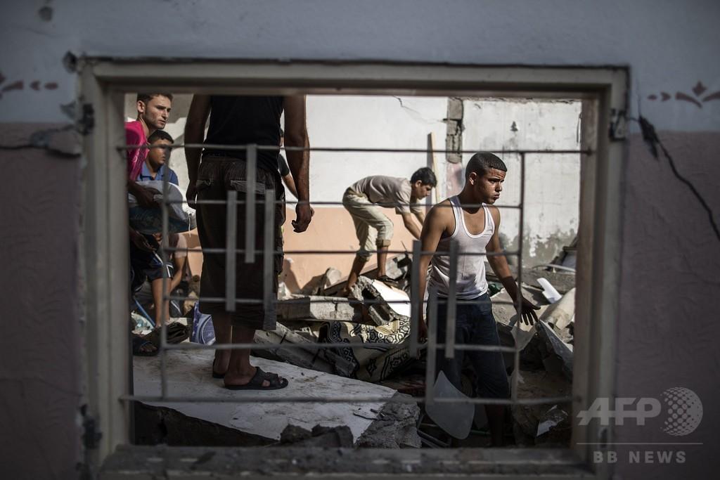 イスラエル「ハマスが兵士を拉致」と攻撃続行、死者1700人超