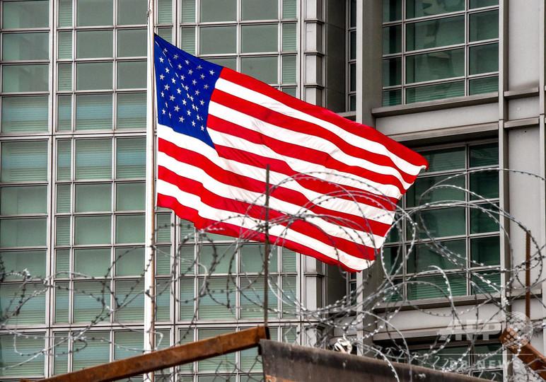 モスクワの米大使館にロシアのスパイか、女性職員を昨年解雇
