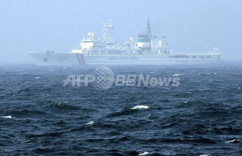 韓国警備艇と中国漁船の衝突、依然1人不明