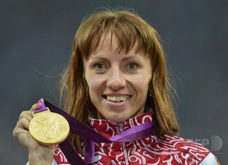 サビノワ、ドーピングでロンドン五輪の金メダル剥奪