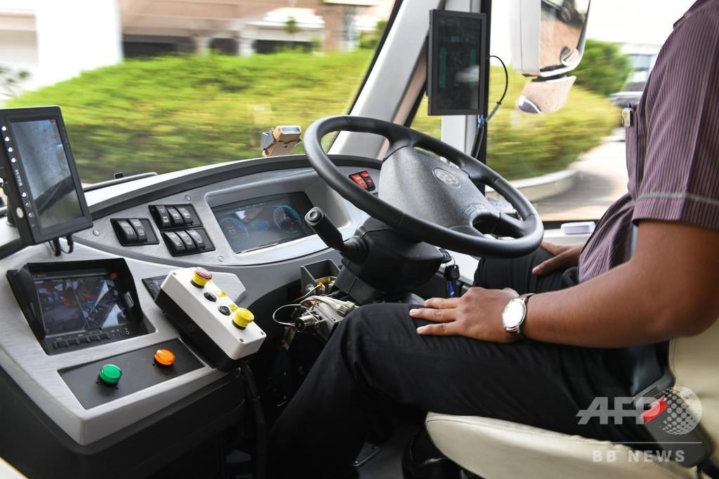 ベルギーのバス運転手、10回刺された後に通常運行して車庫に戻る