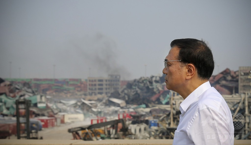 中国流の災害対応、天津の大爆発には通用せず