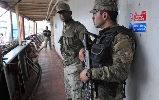 北朝鮮船から発見の「兵器部品」、パナマが国連に調査要請