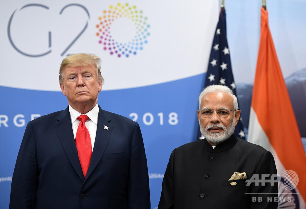 インド、米国の一部製品に対する関税引き上げへ 報道