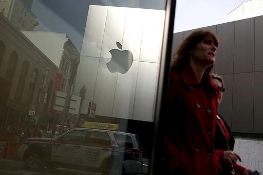 米アップルの時価総額、5000億ドル超える
