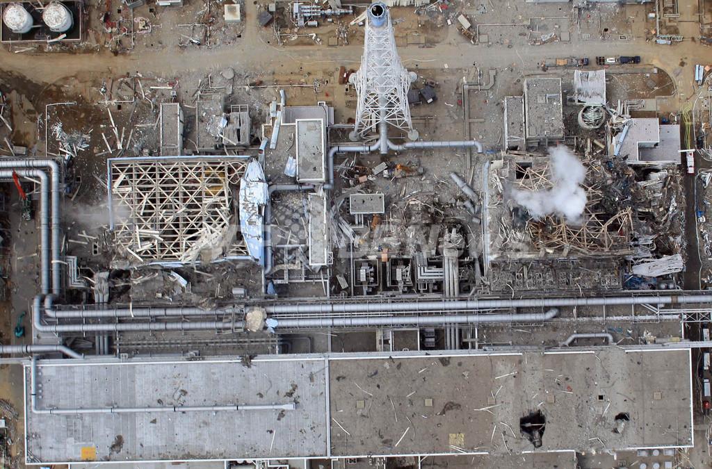 福島第1原発、作業員1人を病院搬送 体調不良で