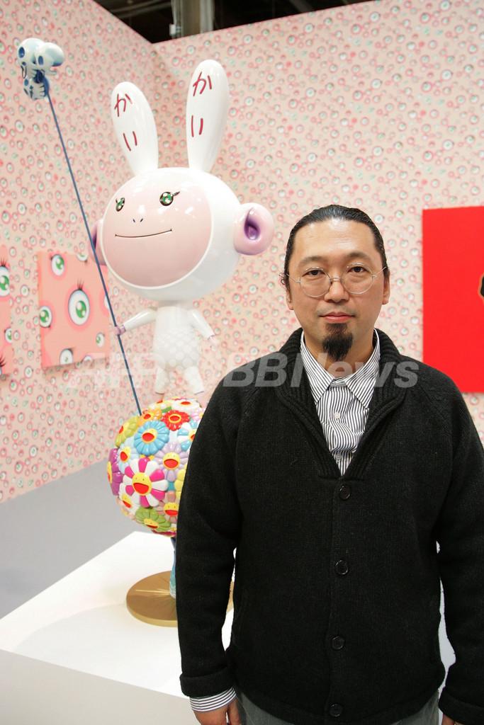 村上隆、ロサンゼルス現代美術館で回顧展「(c)Murakami」開催