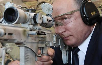【写真特集】ロシアに君臨する「タフガイ」、ウラジーミル・プーチン氏