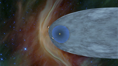 NASA探査機ボイジャー2号、星間空間に到達