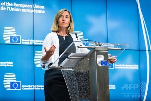 EU、北朝鮮への追加制裁検討で合意 対話の可能性は閉ざさず
