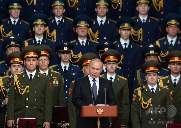 ロシア、ICBMを新たに40基以上配備へ プーチン大統領