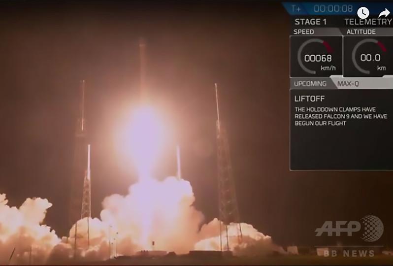 スペースX、謎に包まれた米機密衛星「ズマ」打ち上げ