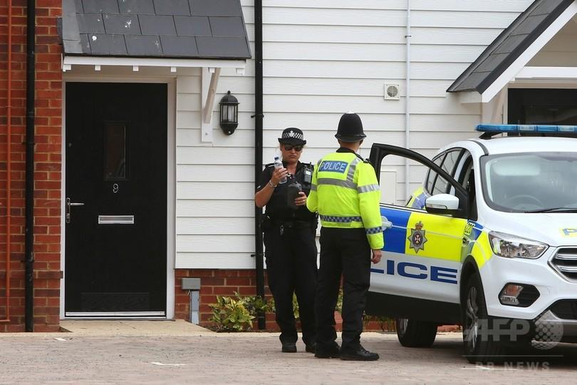 英警察、ノビチョク入り小瓶発見 被害男性宅で