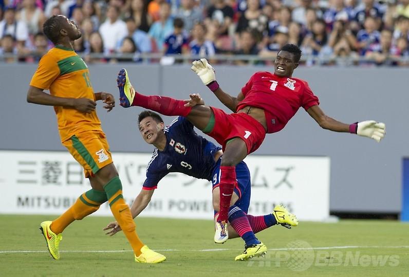 日本、ザンビアに逆転勝利 3連勝でW杯へ
