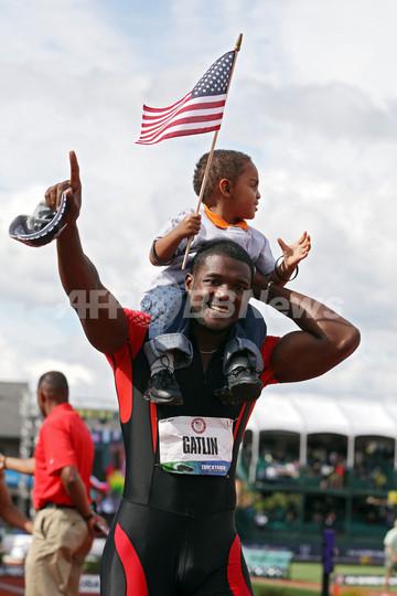 ガトリンとゲイが陸上男子100m五輪米国代表に