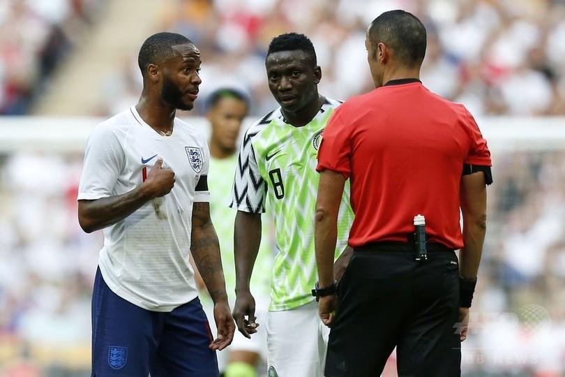 渦中のスターリングも精力的にプレー、イングランドがナイジェリアに勝利