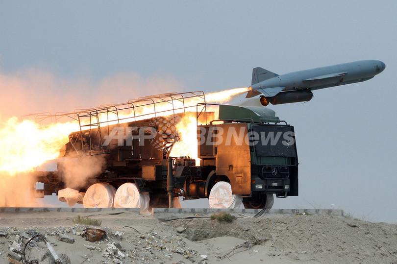 革命防衛隊がミサイル試射、軍事演習終える イラン