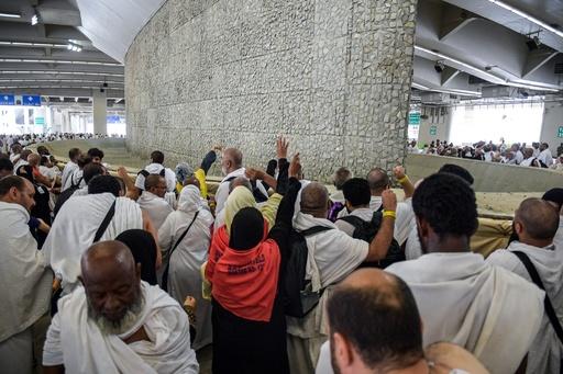 イスラム教の大巡礼、「投石の儀式」に約250万人