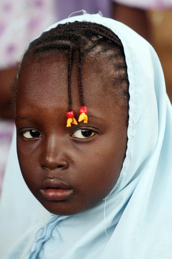 ニジェールのコーラン学校で学ぶ子どもたち