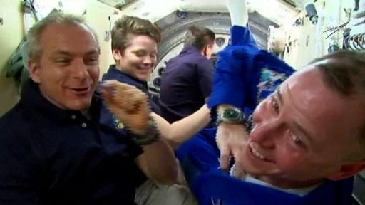 動画:ロシアの宇宙船ソユーズ、打ち上げ成功 ISSにも無事到着