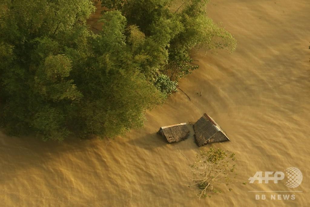 フィリピン豪雨、土砂崩れなどで死者126人に
