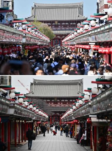 東京・浅草寺も…閑古鳥鳴くアジア各地の観光地、新型ウイルスの影響で
