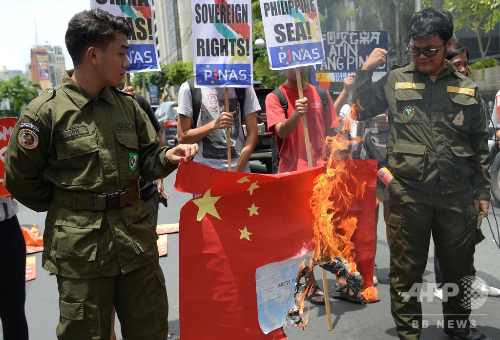 中国船が当て逃げか、南シナ海でフィリピン漁船が沈没 中比が舌戦