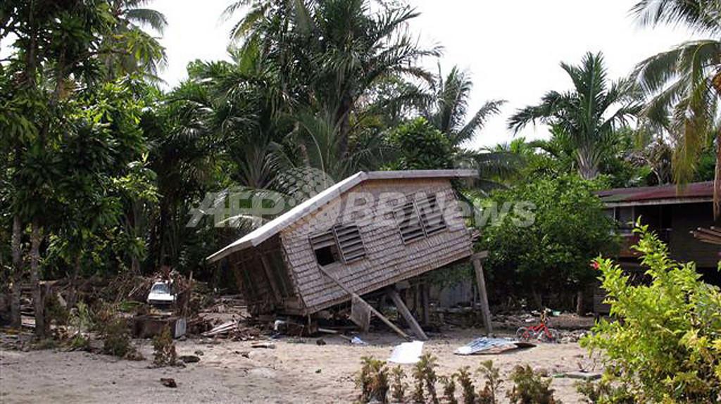 支援機関が訴え、「被災者に水、避難所、医薬品の提供を」 - ソロモン諸島