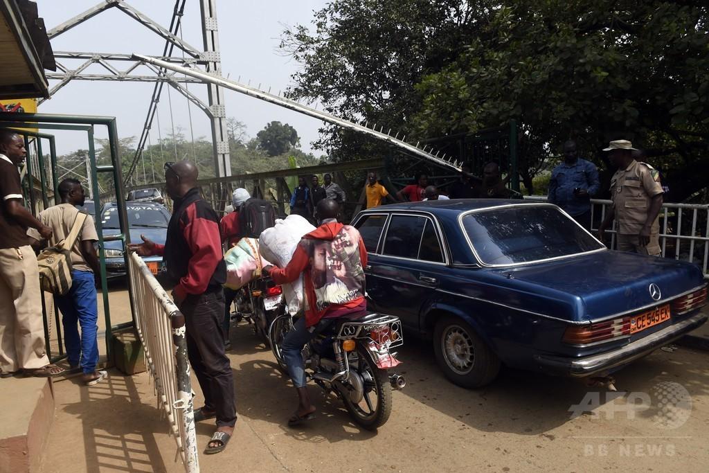 カメルーン英語圏独立派、隣国ナイジェリアに潜伏 黒魔術も