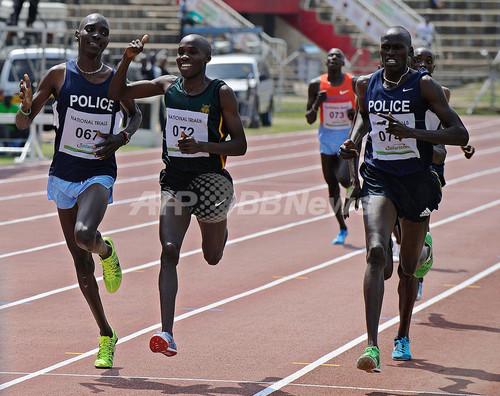 五輪メダル逃したケニア選手、世...