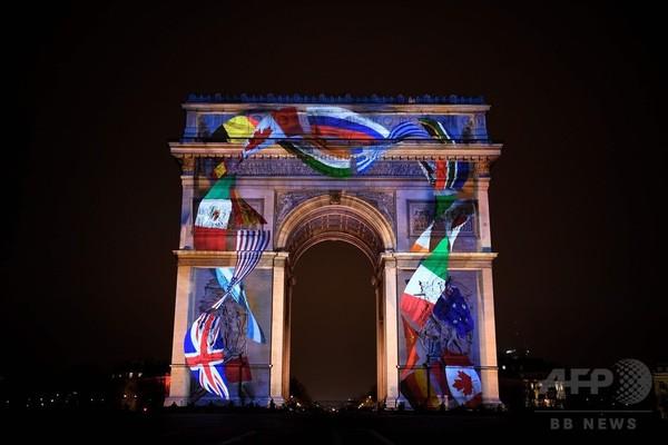【写真特集】世界各地で新年祝うイベント