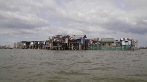 動画:沈みゆくフィリピン諸島、地下水くみ上げの脅威 気候変動上回る
