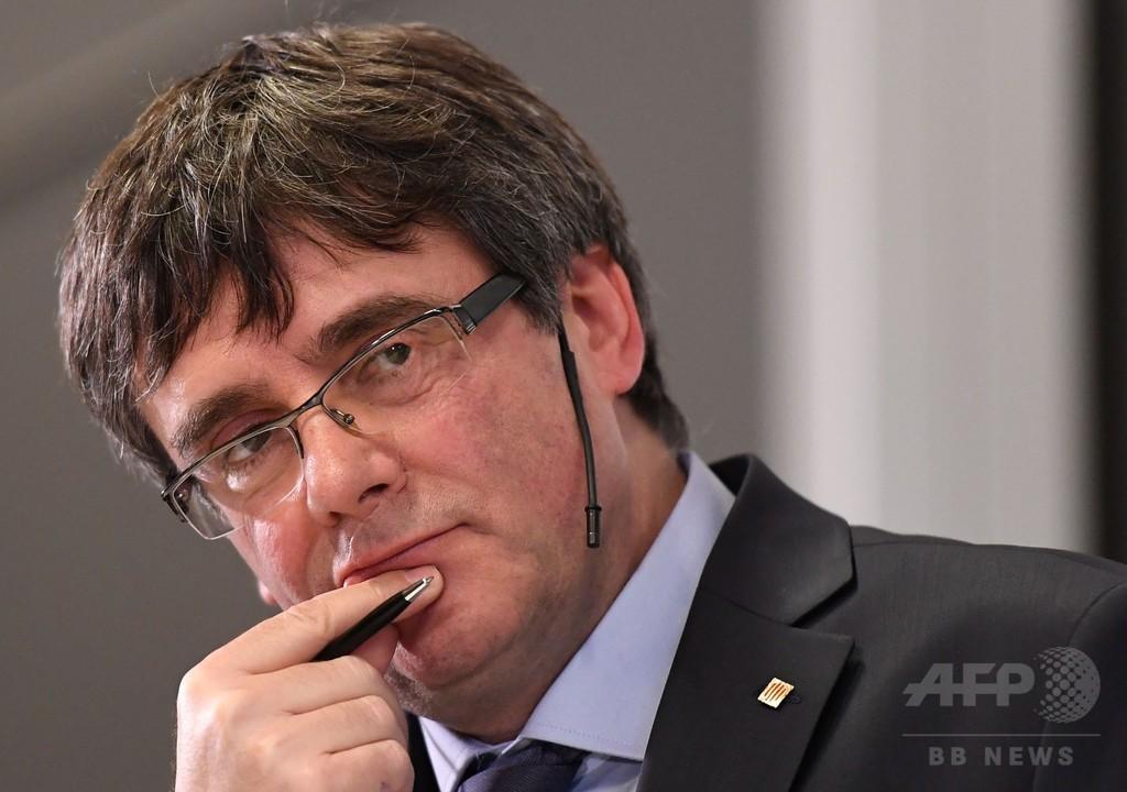 プチデモン氏、カタルーニャ首相復帰を断念 スペイン