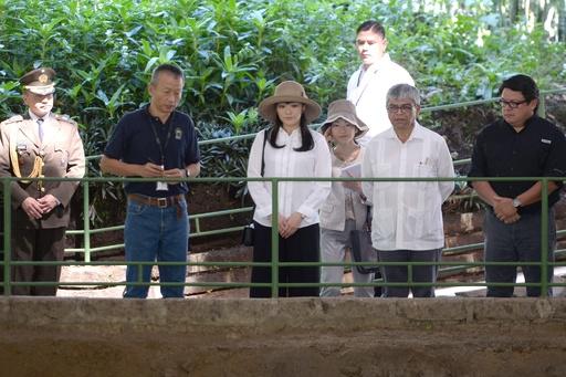 エルサルバドル訪問の眞子さま、古代遺跡を見学