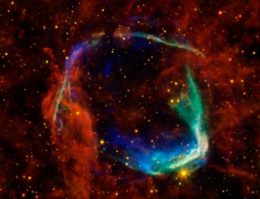 最古の超新星残骸「RCW 86」、新たな画像を公開 NASA