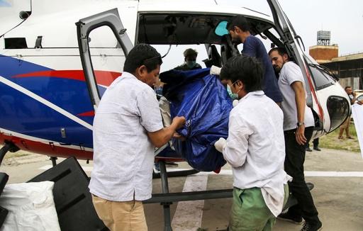 エベレストで発見の遺体、身元特定が難航 ネパール当局の新たな難題に