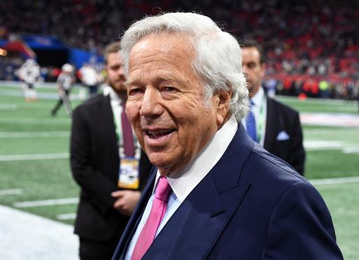 NFL王者のオーナー、買春で訴追 ペイトリオッツのクラフト容疑者