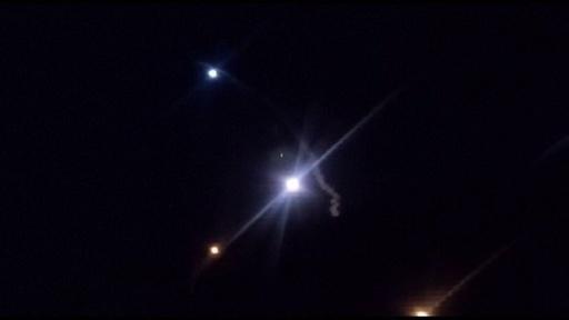 動画:イラン、米軍駐留のイラク基地にミサイル攻撃 発射時の映像