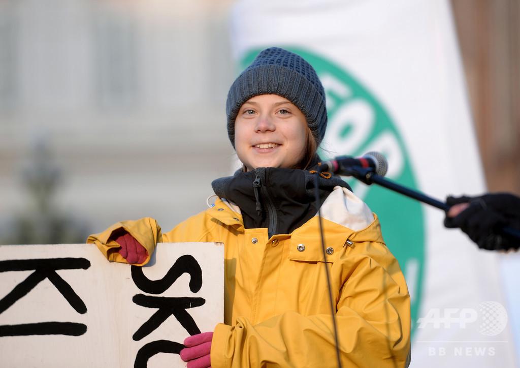 環境活動家グレタさんの父親、「娘は以前より幸せ」と語る