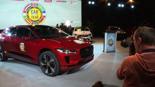 動画:欧州カーオブザイヤー2019はジャガー「Iペース」に ジュネーブ国際自動車ショー