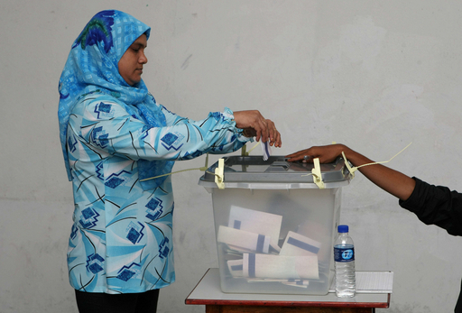 モルディブで大統領選、野党は「不正」とも