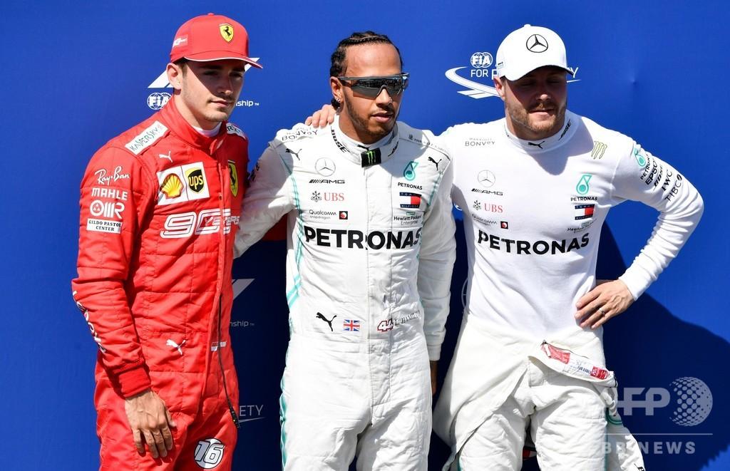 ハミルトンがボッタス抑えポール獲得、フランスGP