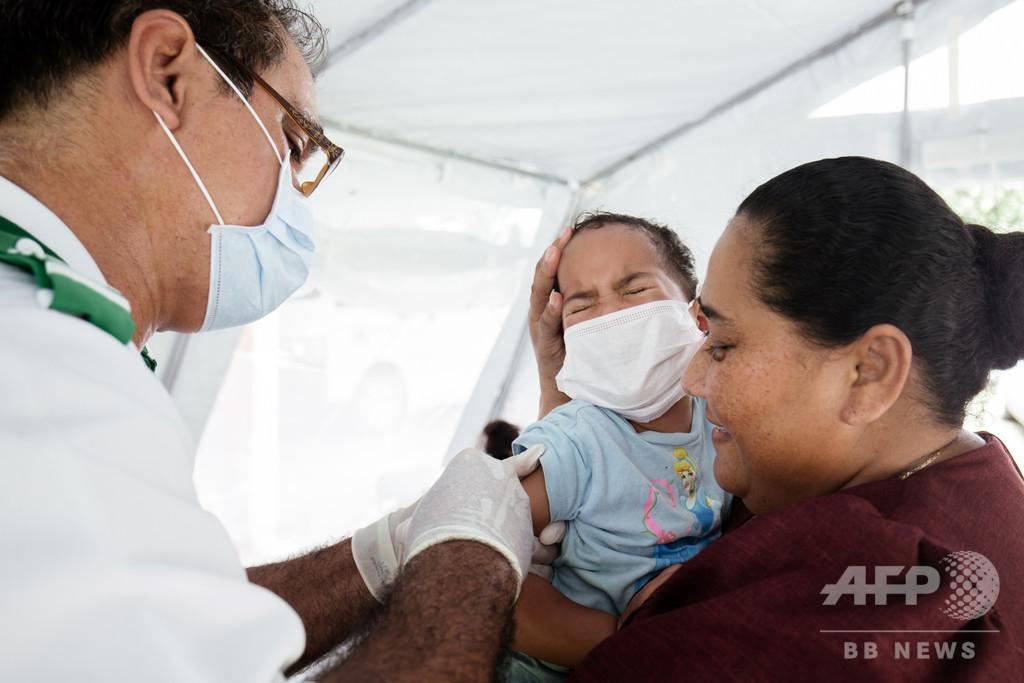 はしかで62人死亡のサモア、全国で予防接種の緊急作戦
