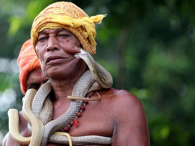 【写真特集】AFPのカメラがとらえた「インド」 ヨガや祭り、奇抜な軍事演習も