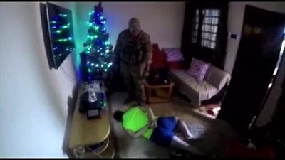 動画:麻薬密売人の捕り物劇、最重要手配犯 確保の瞬間 パラグアイ